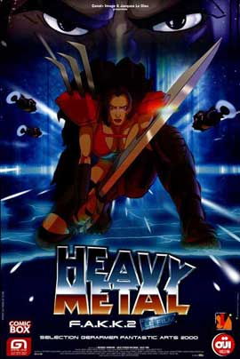 Heavy Metal 2000 - 11 x 17 Movie Poster - French Style A