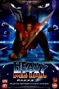 Heavy Metal 2000 - 27 x 40 Movie Poster - French Style A