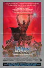 Heavy Metal - 11 x 17 Movie Poster - Style C