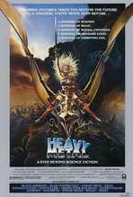 Heavy Metal - 27 x 40 Movie Poster - Style D