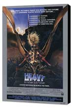 Heavy Metal - 27 x 40 Movie Poster - Style D - Museum Wrapped Canvas