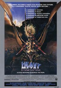 Heavy Metal - 43 x 62 Movie Poster - Bus Shelter Style A