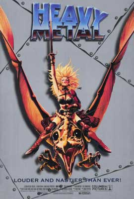 Heavy Metal - 27 x 40 Movie Poster - Style B