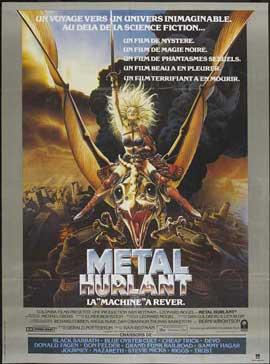 Heavy Metal - 11 x 17 Movie Poster - French Style A