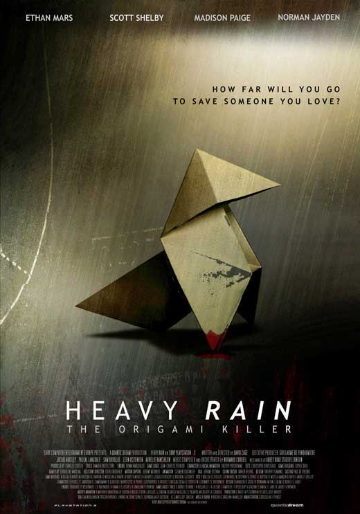pin heavy rain origami killer on pinterest