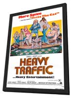 Heavy Traffic - 27 x 40 Movie Poster - Style A - in Deluxe Wood Frame