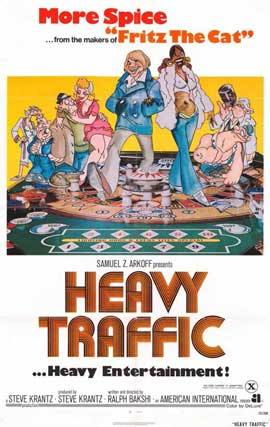 Heavy Traffic - 11 x 17 Movie Poster - Style A
