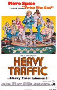 Heavy Traffic - 43 x 62 Movie Poster - Bus Shelter Style A