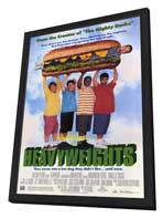 Heavyweights - 27 x 40 Movie Poster - Style B - in Deluxe Wood Frame