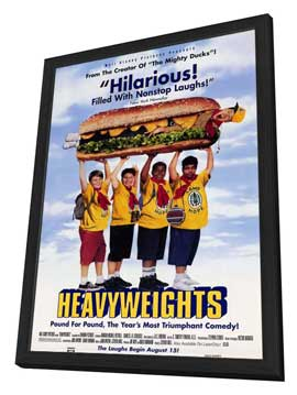 Heavyweights - 11 x 17 Movie Poster - Style A - in Deluxe Wood Frame
