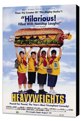 Heavyweights - 11 x 17 Movie Poster - Style A - Museum Wrapped Canvas