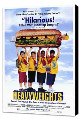Heavyweights - 27 x 40 Movie Poster - Style A - Museum Wrapped Canvas