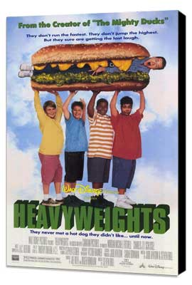 Heavyweights - 27 x 40 Movie Poster - Style B - Museum Wrapped Canvas