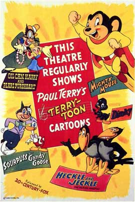 Heckle and Jeckle - 11 x 17 Movie Poster - Style A
