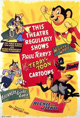 Heckle and Jeckle - 27 x 40 Movie Poster - Style A