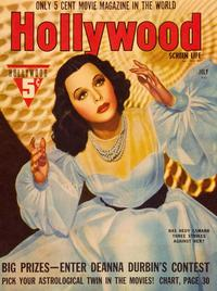 Hedy Lamarr - 27 x 40 Movie Poster - Hollywood Magazine Cover 1930's Style A
