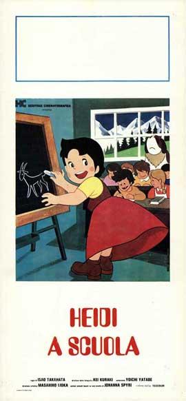 heidi a syika - 13 x 28 Movie Poster - Italian Style A