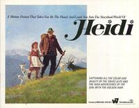 Heidi - 22 x 28 Movie Poster - Half Sheet Style A