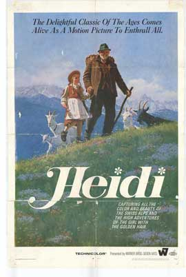 Heidi - 27 x 40 Movie Poster - Style A
