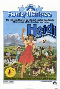 Heidi - 27 x 40 Movie Poster - Style A