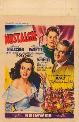 Heimweh nach dir - 27 x 40 Movie Poster - Belgian Style A