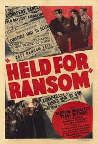 Held for Ransom - 11 x 17 Movie Poster - Style A
