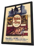 Helen of Troy - 11 x 17 Movie Poster - Style A - in Deluxe Wood Frame