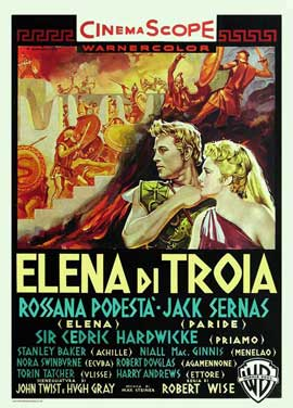 Helen of Troy - 11 x 17 Movie Poster - Italian Style A