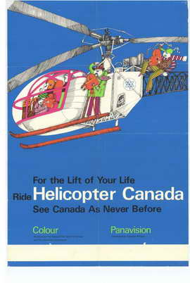 Helicopter Canada - 27 x 40 Movie Poster - Style A