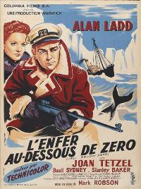 Hell Below Zero - 27 x 40 Movie Poster - French Style A
