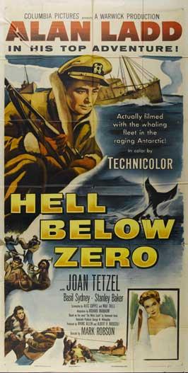Hell Below Zero - 11 x 17 Movie Poster - Style B