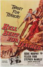 Hell Bent for Leather - 11 x 17 Movie Poster - Style A