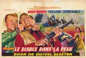 Hell Bent for Leather - 11 x 17 Movie Poster - Belgian Style A
