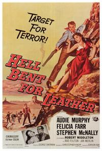 Hell Bent for Leather - 27 x 40 Movie Poster - Style A