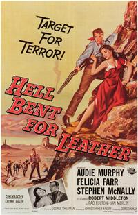 Hell Bent for Leather - 43 x 62 Movie Poster - Bus Shelter Style A
