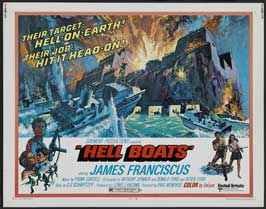 Hell Boats - 22 x 28 Movie Poster - Half Sheet Style A