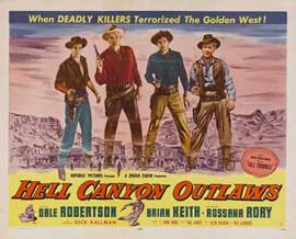 Hell Canyon Outlaws - 11 x 14 Movie Poster - Style A