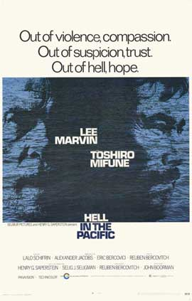 Hell in the Pacific - 11 x 17 Movie Poster - Style A