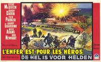 Hell Is for Heroes - 11 x 17 Movie Poster - Belgian Style A