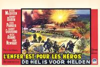 Hell Is for Heroes - 27 x 40 Movie Poster - Belgian Style B
