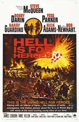 Hell Is for Heroes - 11 x 17 Movie Poster - Style A