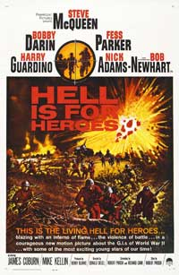 Hell Is for Heroes - 43 x 62 Movie Poster - Bus Shelter Style A