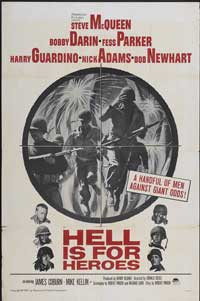 Hell Is for Heroes - 11 x 17 Movie Poster - Style B