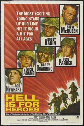 Hell Is for Heroes - 27 x 40 Movie Poster - Style C