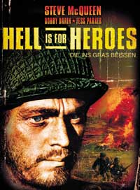 Hell Is for Heroes - 11 x 17 Movie Poster - German Style A