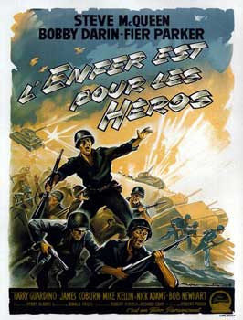 Hell Is for Heroes - 11 x 17 Movie Poster - French Style A
