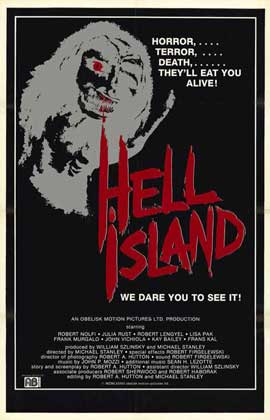 Hell Island - 27 x 40 Movie Poster - Style A