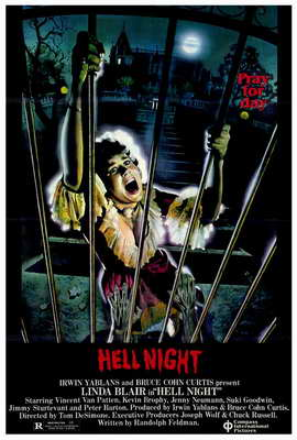 Hell Night - 27 x 40 Movie Poster - Style A