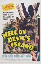 Hell on Devil's Island - 11 x 17 Movie Poster - Style A