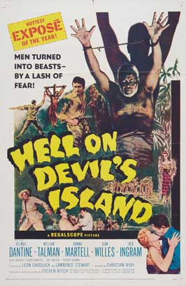 Hell on Devil's Island - 27 x 40 Movie Poster - Style A